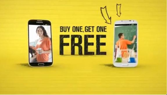 Sprint Offers Galaxy S4 BOGO for Back-to-School