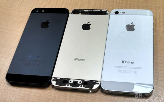 The iPhone 5S is expected to retain a design similar to the iPhone 5.