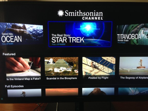 Apple TV Smithsonian