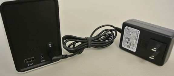 braven 850 comes with a large power brick