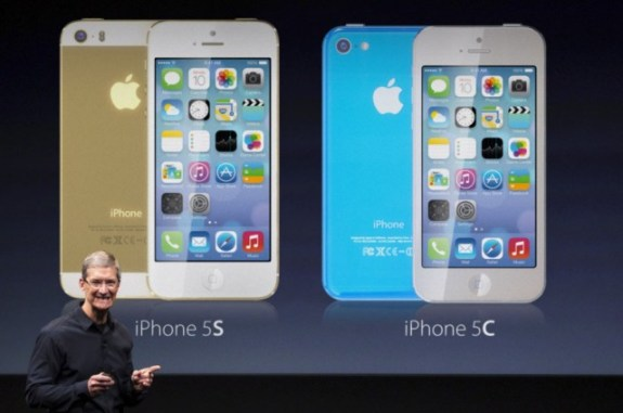 Tim Cook could announce a gold iPhone 5S color option on September 10th.