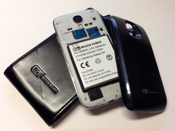 mugen power 5500mAh battery and case