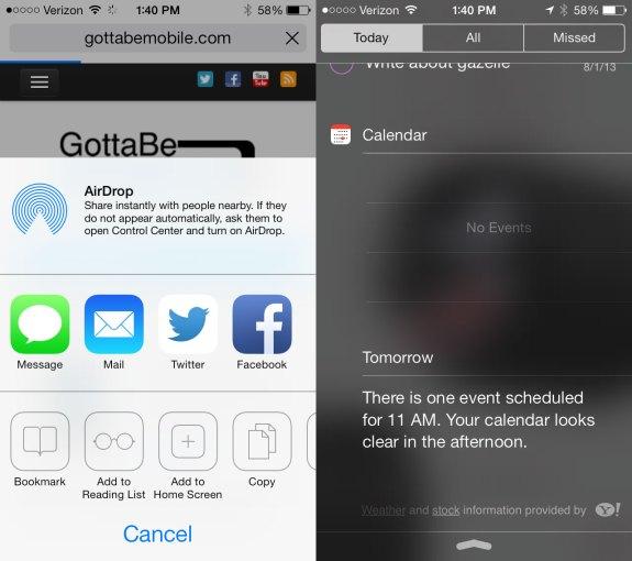 More new iOS 7 beta 5 updates.