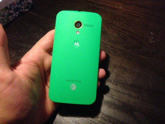 A customized Moto X on AT&T.