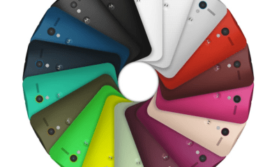 The Moto X color options combine to offer over 2,000 color options.