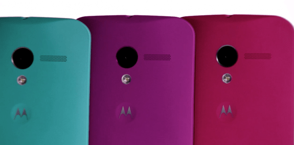 The Moto X features a 10MP Clear Pixel camera.