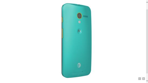 The color customizable Moto X.