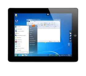 Parallels Access on iPad accessing Windows 7 PC