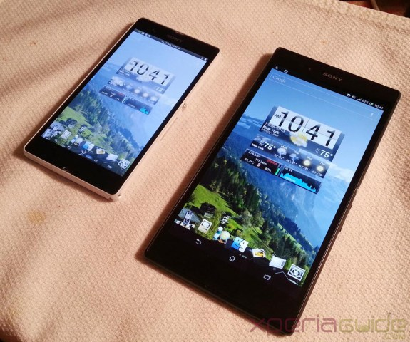 The Sony Xperia Z Ultra is about as big as smartphones get.