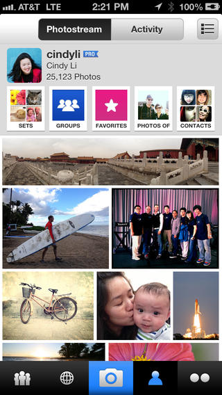 Flickr Mobile 2.2 for iOS