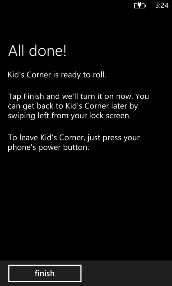 how to turn on kids corner on windows phone 8 (9)