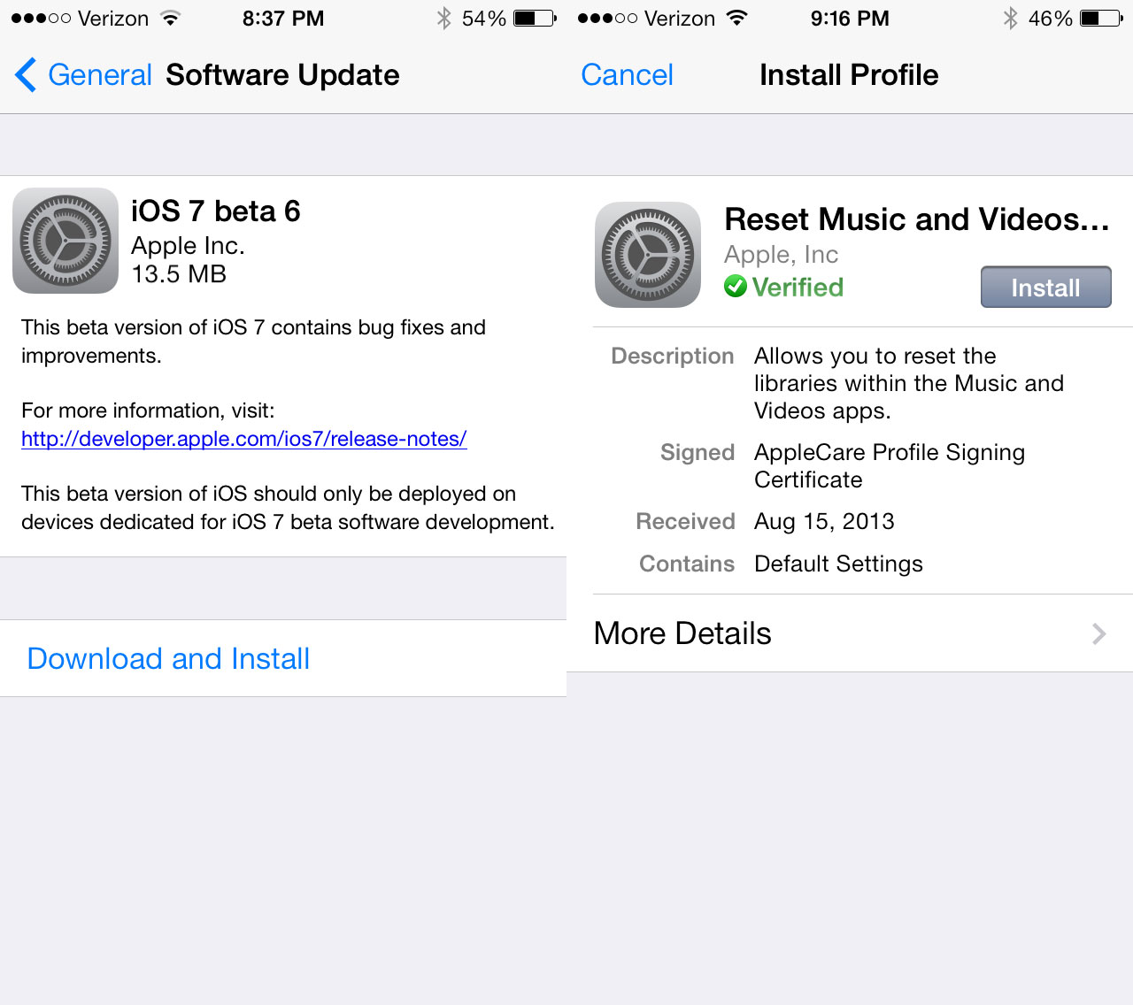 Download iOS 7 beta 6 for iPhone iPad and iPod touch