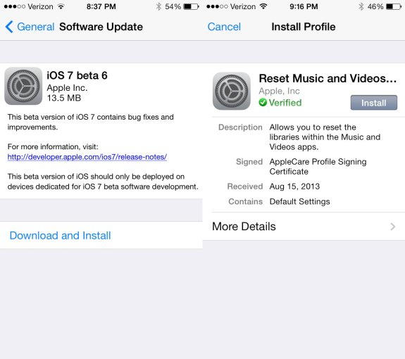 iOS 7 beta 6 may be the final IOS 7 beta according to a new rumor.