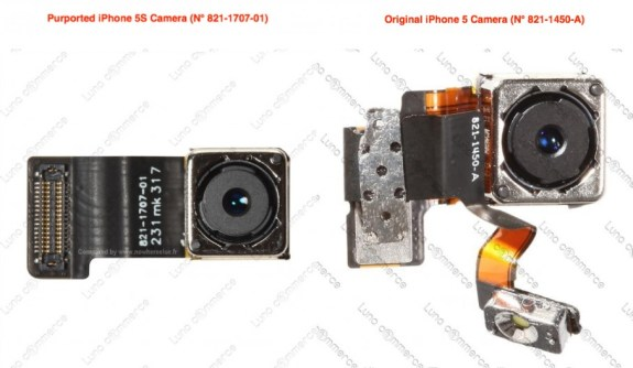 A claimed iPhone 5S Camera leak points to a new camera on the new Apple iPhone.
