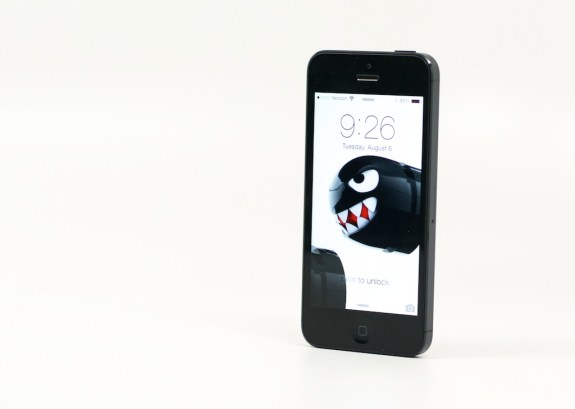 Expect a similar 4-inch display for the iPhone 5S.