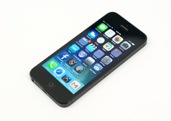 The iPhone 5S is expected to land soon.
