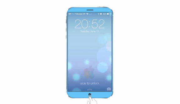 The iPhone 6 concept features a 6.2-inch Full HD display.