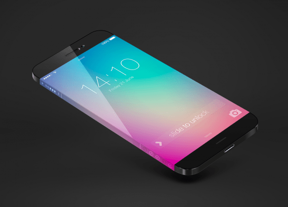 Another iPhone 6 concept with volume controls on the edge of the display. Michael Shanks