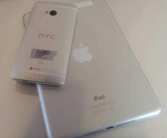 android phone and iPad mini
