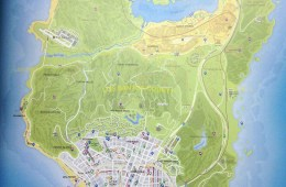 This is likely the GTA 5 map. Click for a larger version.