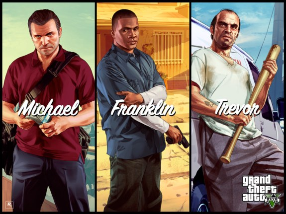 GTA 5 phone choices mock stereotypes of iPhone, Android and Windows Phone users.