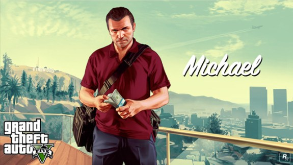 In GTA 5, rich players have an iPhone.