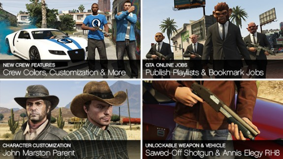 Rockstar shares new GTA Online features and details.