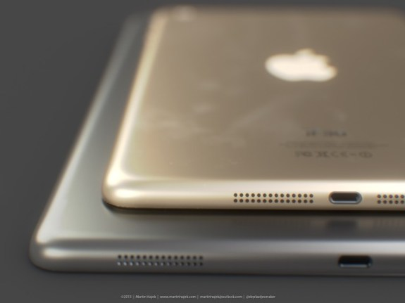 Gold iPad mini 2