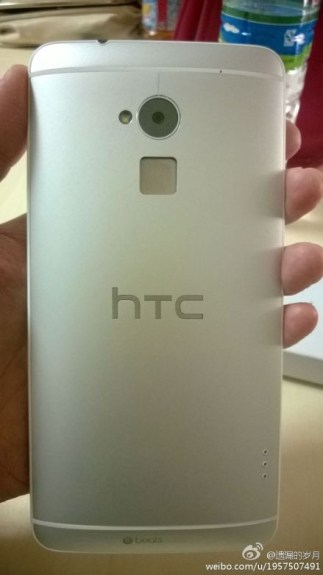 Pictures of what's rumored to be the HTC One Max.