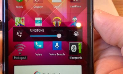 htc one volume down button mutes call volume