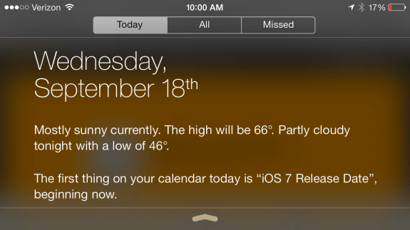 The iOS 7 release time is very likely set for September 18th at 10 AM Pacific. Check out when the iOS 7 release could be in your time zone.
