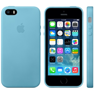 apple iphone 5s blue case