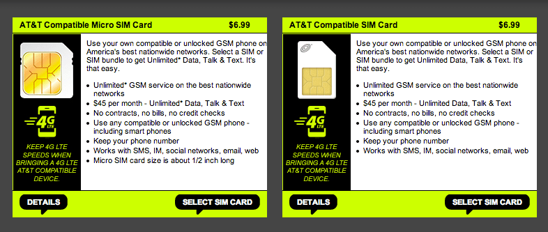 Straight Talk AT&T SIMs Now Support LTE
