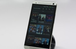 The Verizon HTC One can act as a remote control for your home theater.