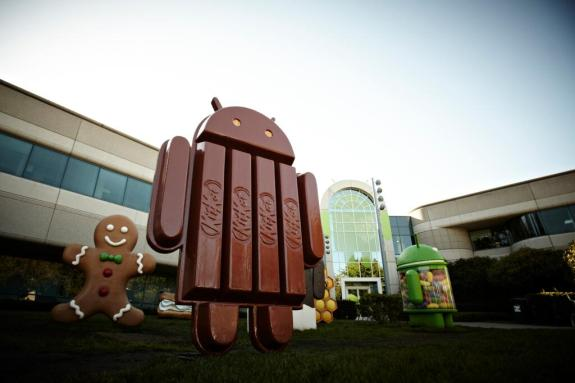 Android 4.4 KitKat is Google's brand new mobile operating system.