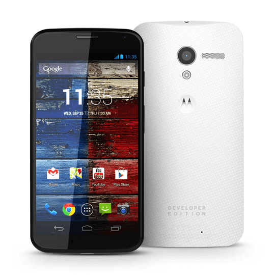 The Developer Edition Moto X
