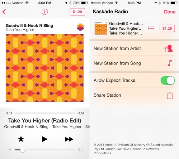 iTunes Radio is a huge new iOS 7 feature that should appeal to music lovers.