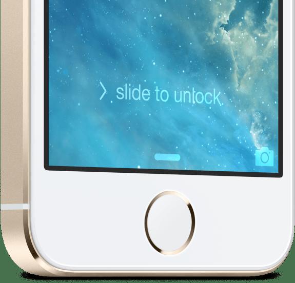 This is the new iPhone 5S fingerprint sensor.