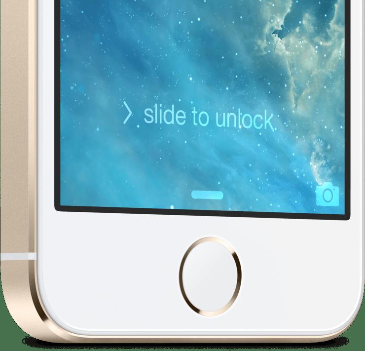 This is the iPhone 5S fingerprint sensor.