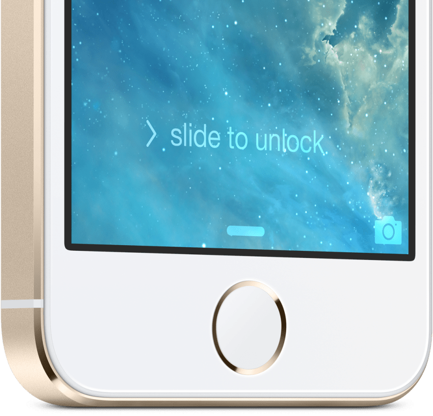 This is the iPhone 5S fingerprint sensor.