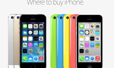 Apple announced the iPhone 5C and iPhone 5S release date at the end of an event today in California.