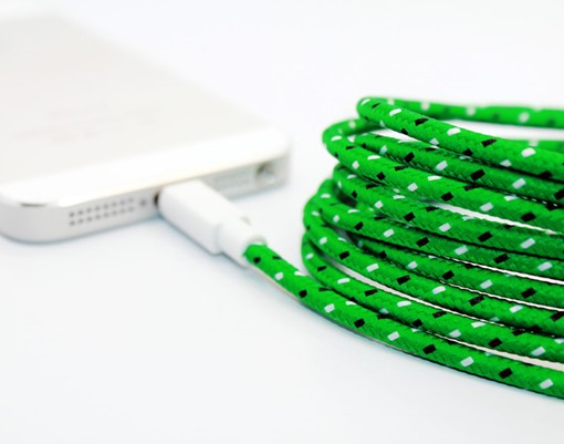 iPhone 5s accessory - braided Lightning Cable