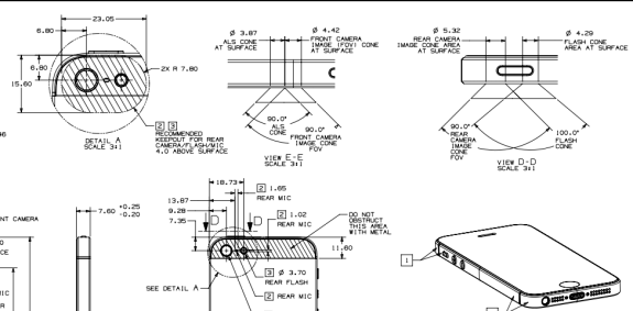 Apple delivers detailed iPhone dimensions and instructions to case makers.
