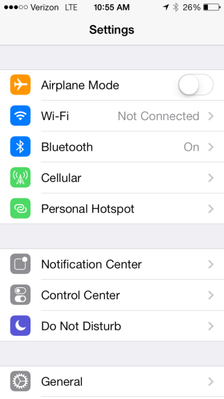 iOS 7 personal hotspot guide.