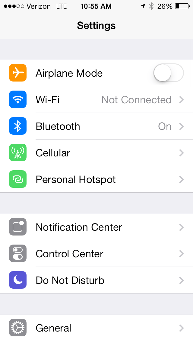 Hotspot Iphone 7 >> How To Use Personal Hotspot On Ios 7