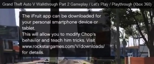 An iPhone GTA 5 app is teased in leaked GTA 5 footage.