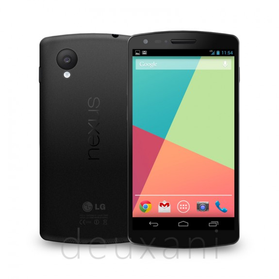 This is a very detailed look at a possible Nexus 5 from LG.