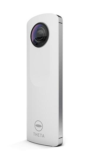 ricoh theta camera takes 360 degree images