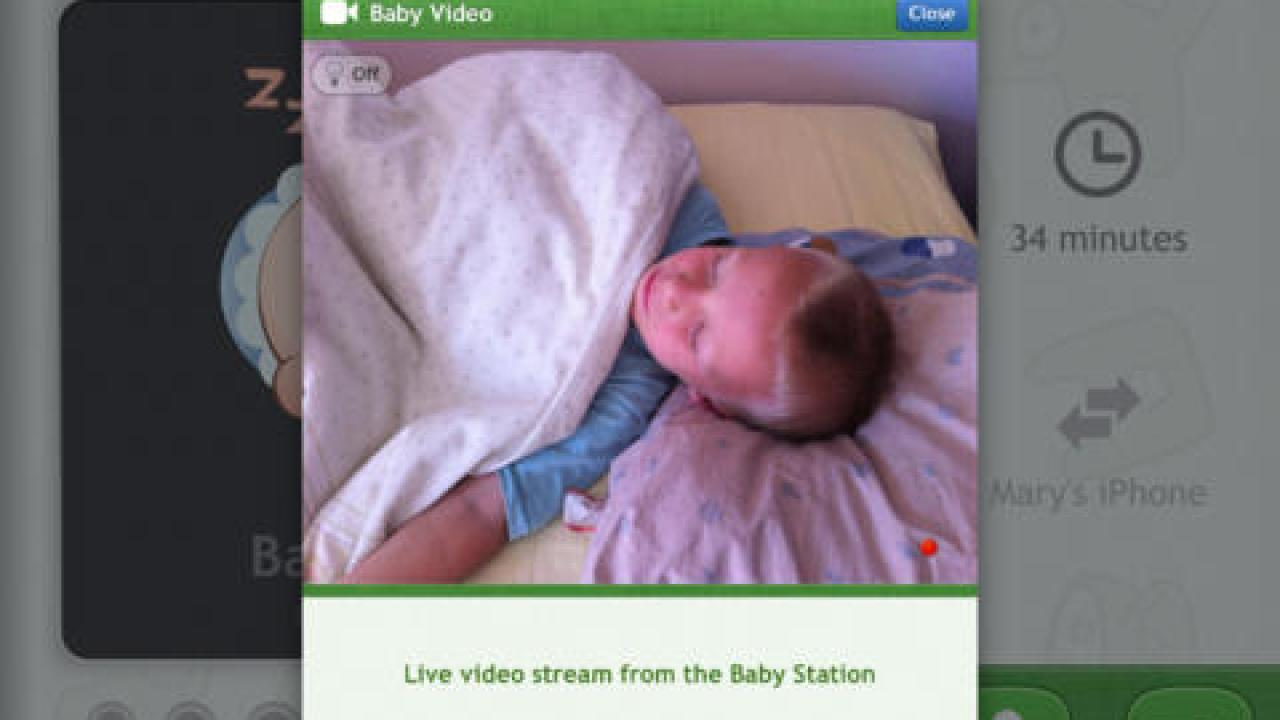 Baby Monitor 3G Turns iPad or iPhone Into Baby Monitor
