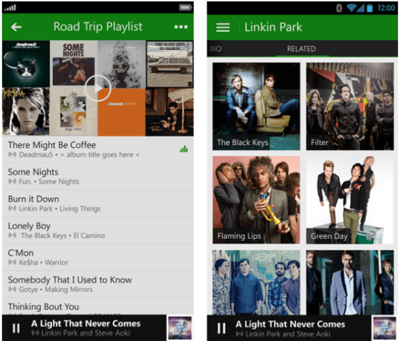 Xbox Music on Android is available today.